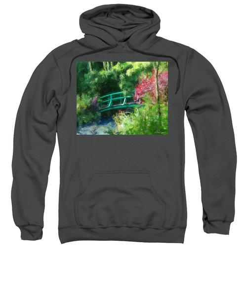 Monet's Garden Sweatshirt