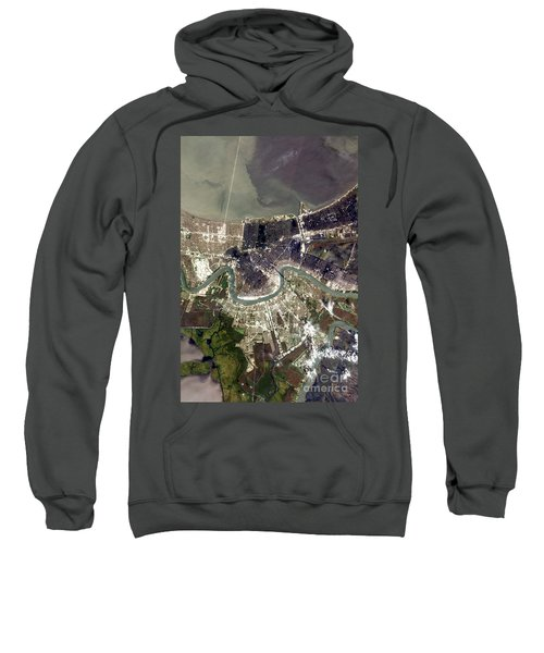 New Orleans After Hurricane Katrina Sweatshirt