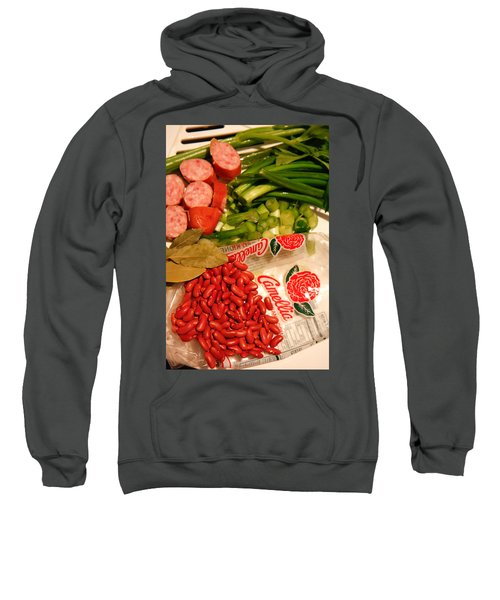 New Orleans' Red Beans And Rice Sweatshirt