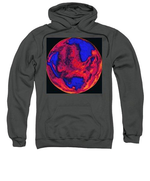 Oceans Of Fire Sweatshirt
