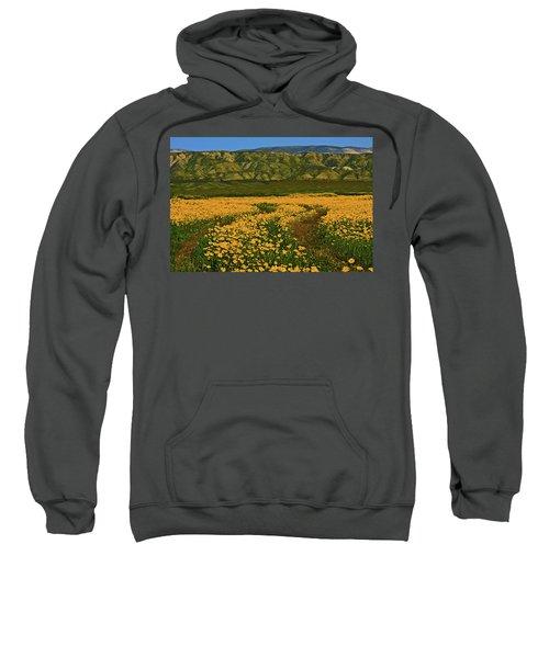 Path Through The Wildflowers Sweatshirt
