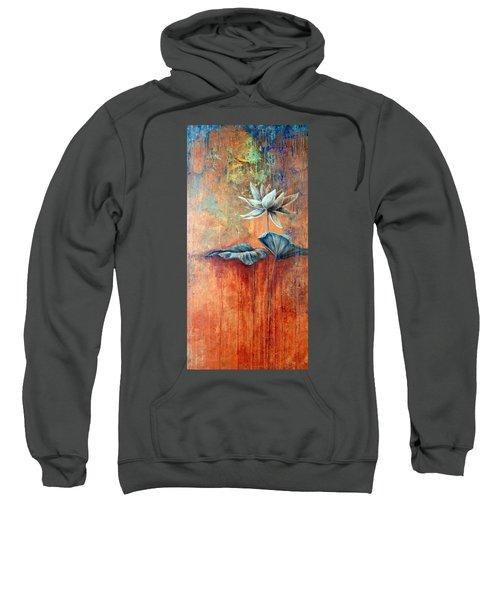 Patina Lotus Sweatshirt
