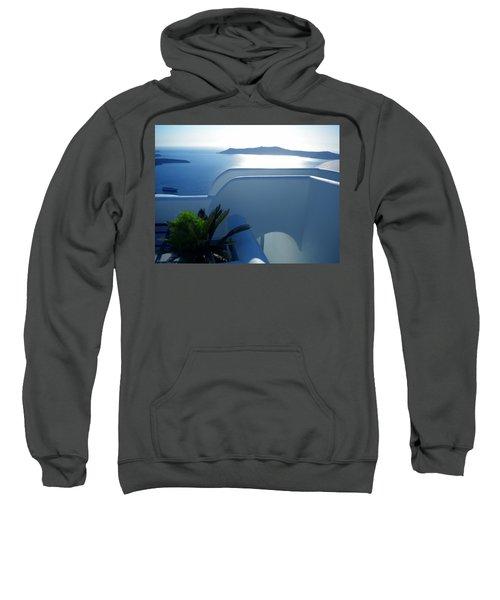 Peaceful Sunset Santorini Sweatshirt
