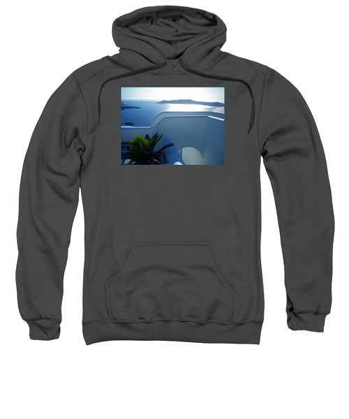 Peaceful Sunset Santorini Sweatshirt