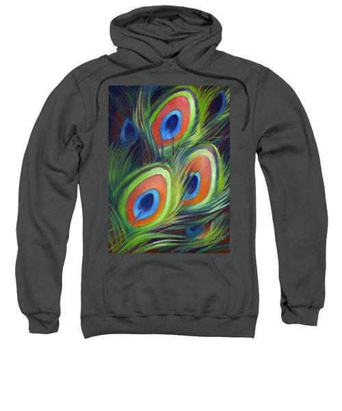 Peacock Feathers Sweatshirt
