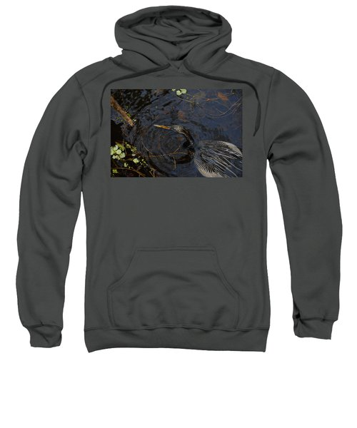 Perfect Catch Sweatshirt by David Lee Thompson