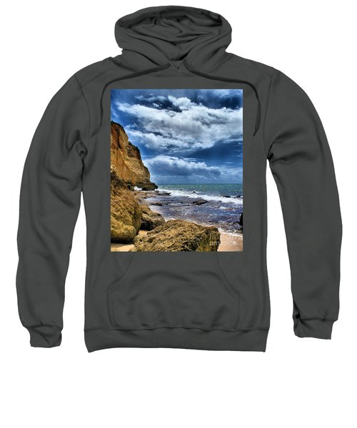 Portugal Beach Hdr Sweatshirt