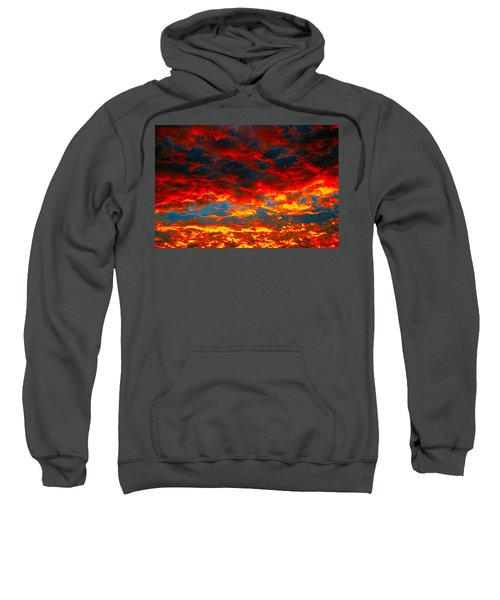 Red Clouds Sweatshirt