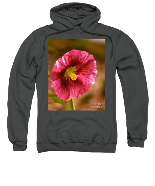 Red Hollyhock Sweatshirt
