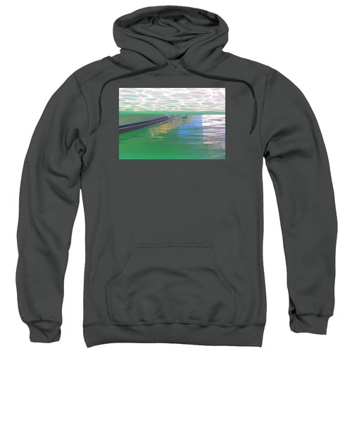 Sweatshirt featuring the photograph Reflections by Nareeta Martin