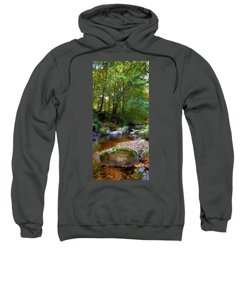 River In Cawdor Big Wood Sweatshirt