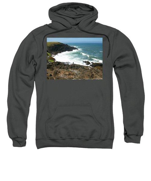 Rocky Ocean Coast Sweatshirt