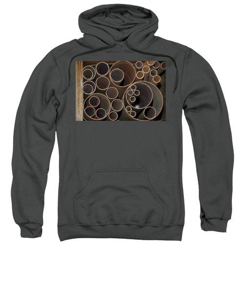 Round Sandpaper Sweatshirt