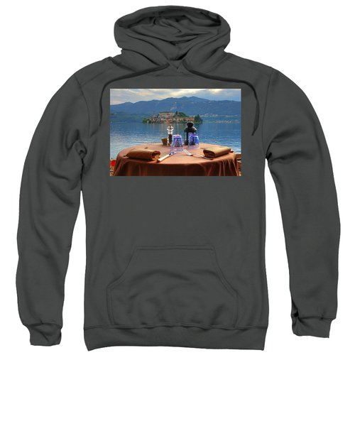 Set Table With A View Sweatshirt