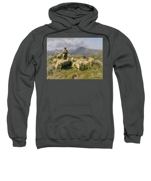 Shepherd Of The Pyrenees Sweatshirt