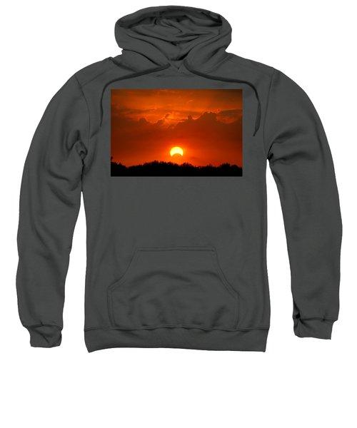 Solar Eclipse Sweatshirt by Bill Pevlor