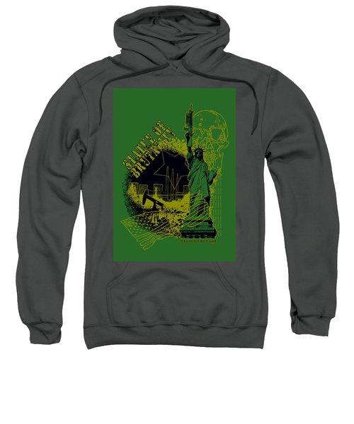 Statue Of Brutality  Sweatshirt