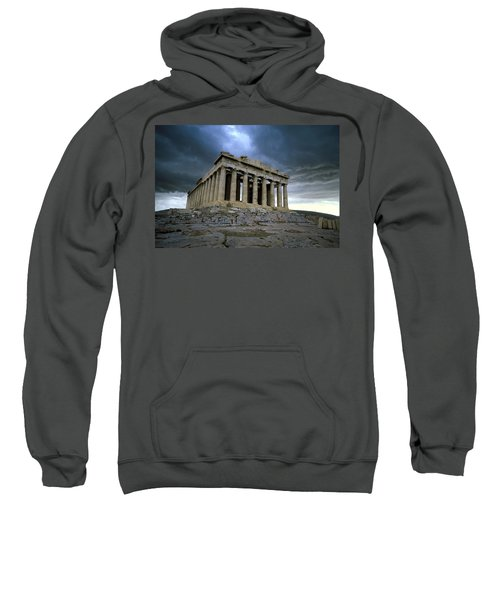 Storm Over The Parthenon Sweatshirt