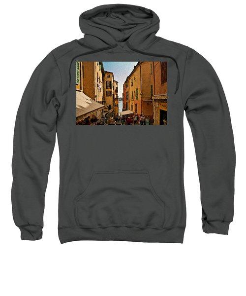 Street In Villefranche II Sweatshirt