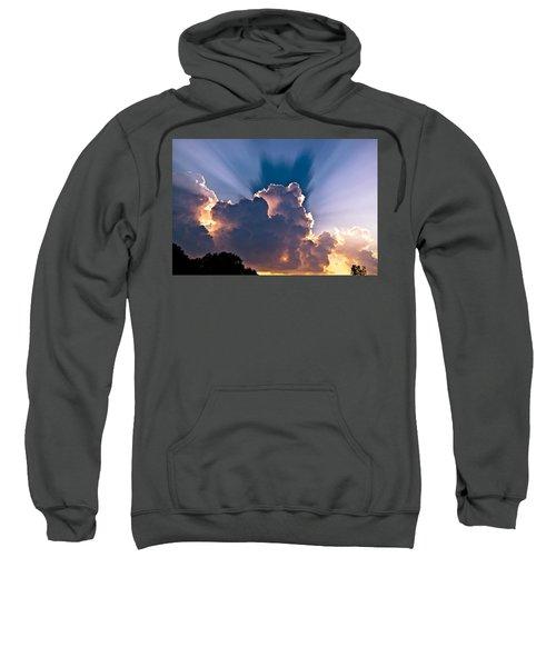 Sun Rays And Clouds Sweatshirt