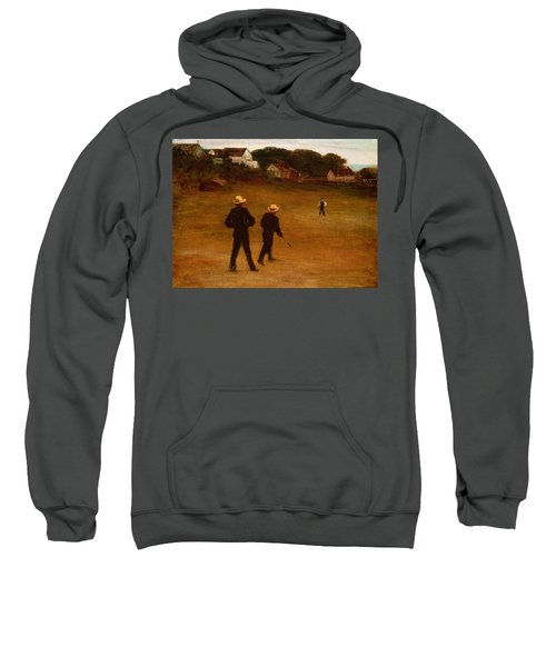 The Ball Players Sweatshirt by William Morris Hunt
