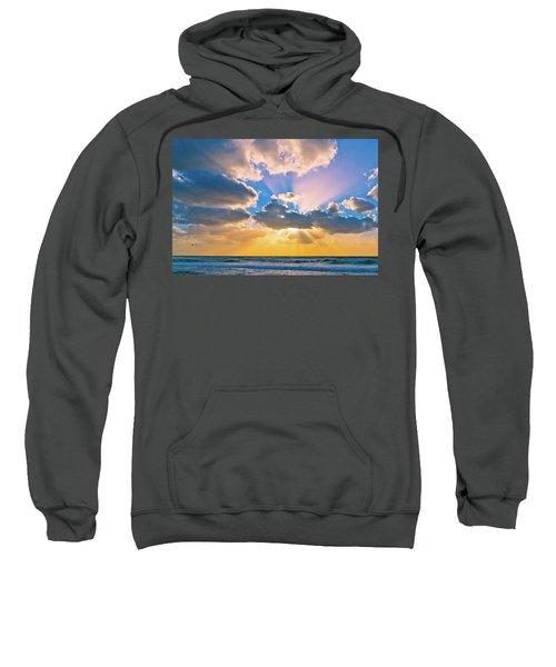 The Sea In The Sunset Sweatshirt