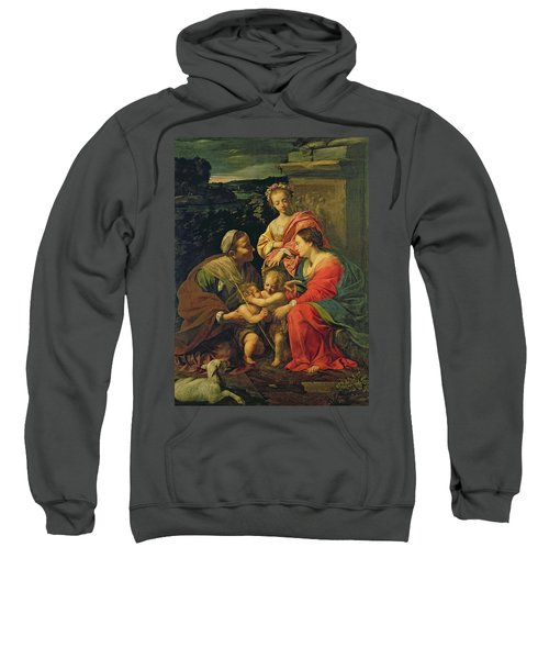 The Virgin And Child With Saints Sweatshirt