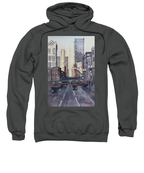 Theatre District - Chicago Sweatshirt by Ryan Radke