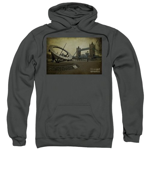 Sweatshirt featuring the photograph Timepiece. by Clare Bambers