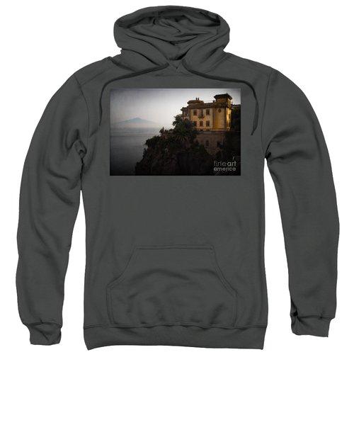 Vesuvius From Sorrento Sweatshirt