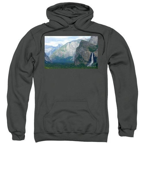 Yosemite Bridalveil Fall Sweatshirt