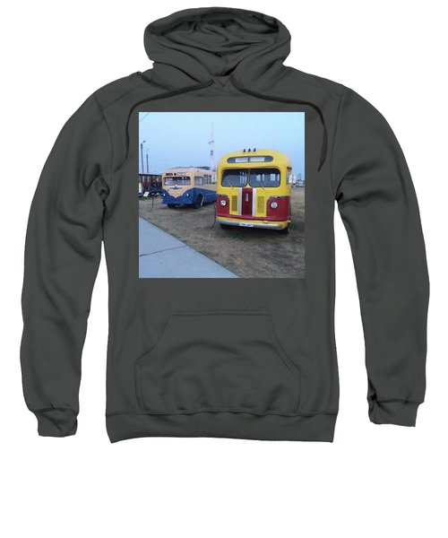 Retro Bus Sweatshirt