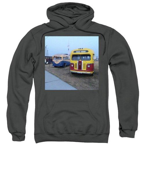 Retro Bus Sweatshirt