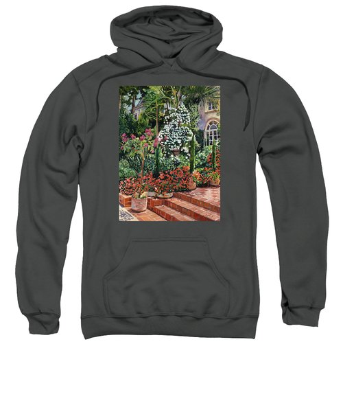 A Garden Approach Sweatshirt by David Lloyd Glover