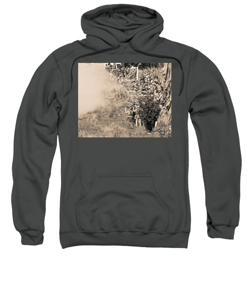 Gettysburg Confederate Infantry 8769s Sweatshirt