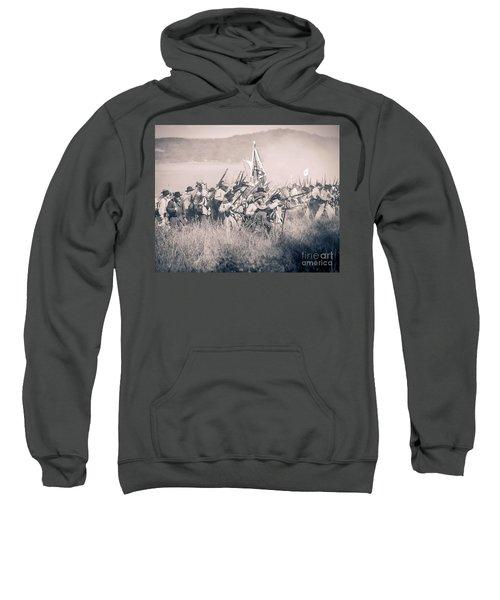 Gettysburg Confederate Infantry 9214s Sweatshirt