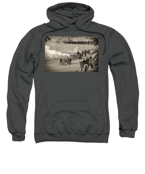 Gettysburg Union Artillery And Infantry 7439s Sweatshirt