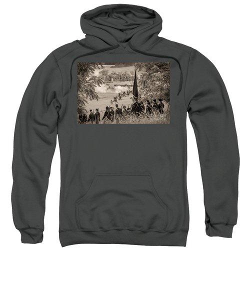 Gettysburg Union Artillery And Infantry 7457s Sweatshirt