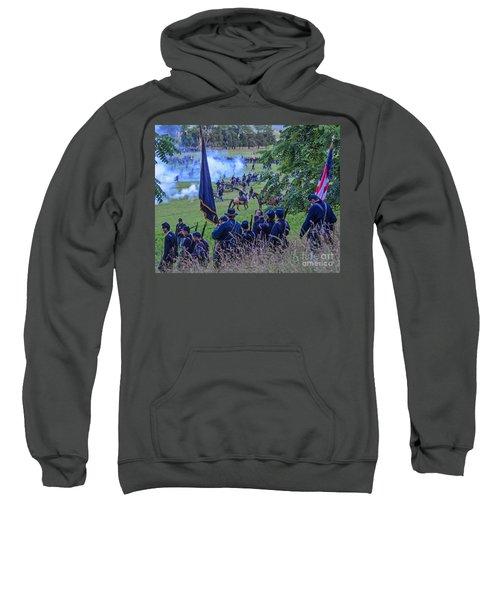 Gettysburg Union Artillery And Infantry 7459c Sweatshirt