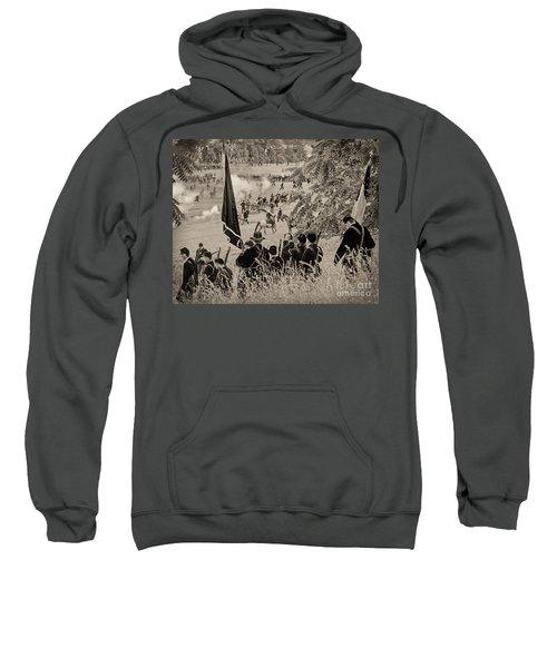 Gettysburg Union Artillery And Infantry 7459s Sweatshirt