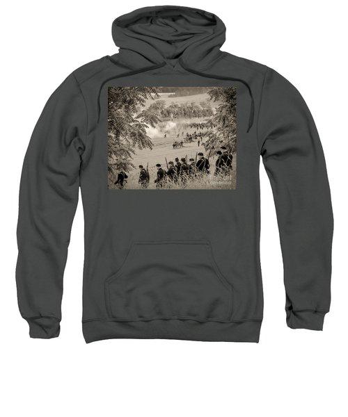 Gettysburg Union Artillery And Infantry 7465s Sweatshirt