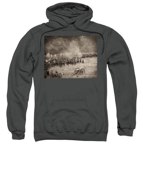 Gettysburg Union Artillery And Infantry 8456s Sweatshirt
