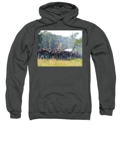 Gettysburg Union Infantry 9372c Sweatshirt