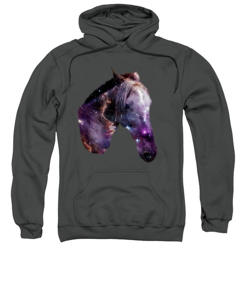Horse In The Small Magellanic Cloud Sweatshirt