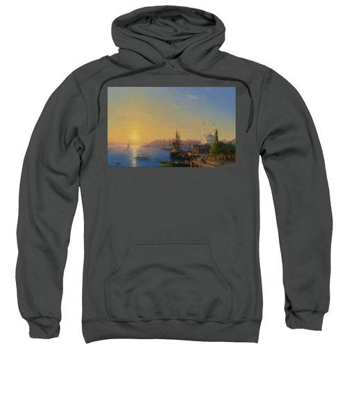 View Of Constantinople And The Bosphorus Sweatshirt