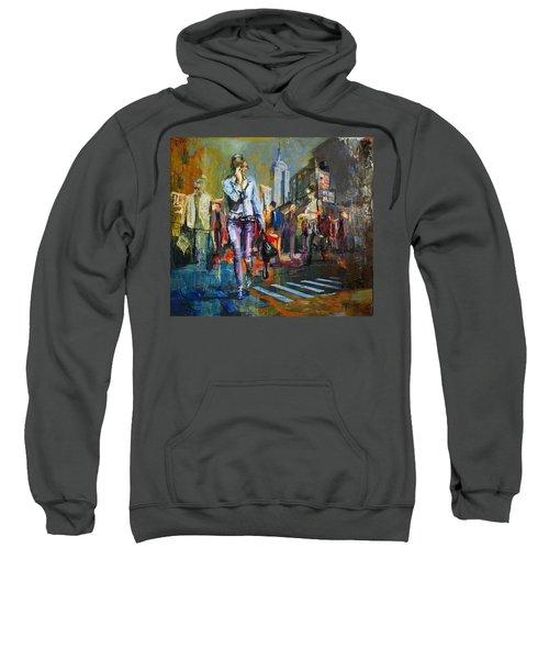 066 Ny Manhattan Street View New York Sweatshirt