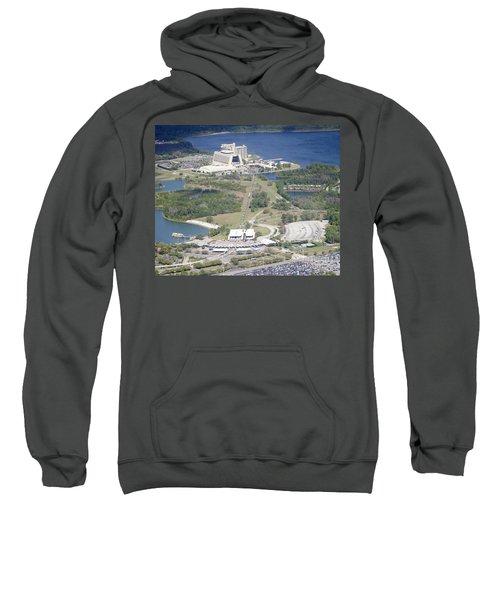 Aeriel View Of Disney's Contemporary Resort Sweatshirt