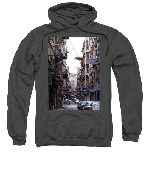 Aleppo Street01 Sweatshirt