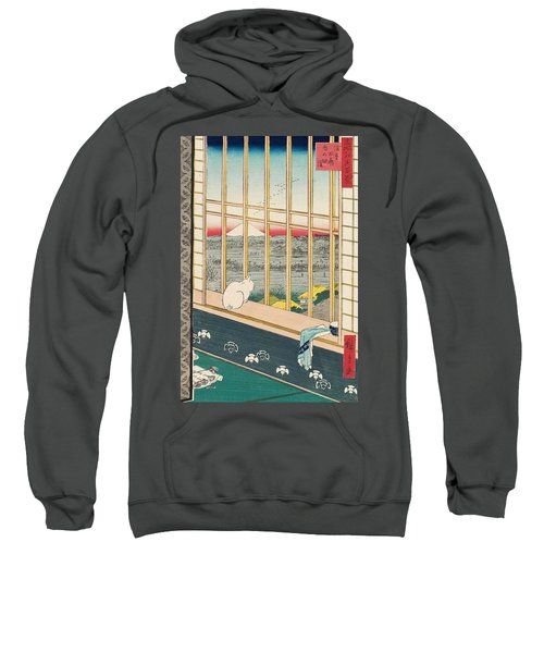 Asakusa Rice Fields And Torinomachi Festival Sweatshirt