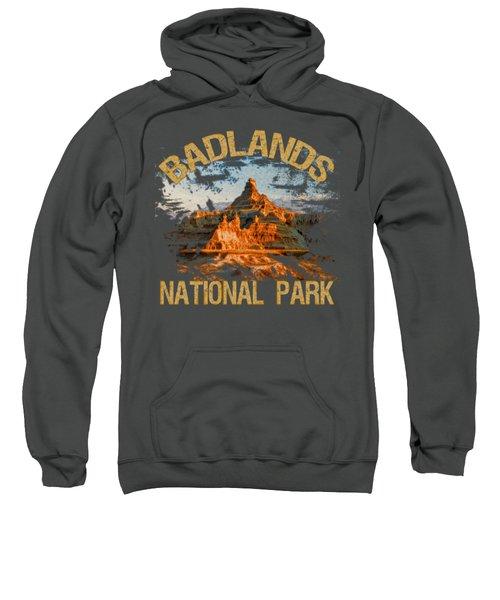 Badlands National Park Sweatshirt by David G Paul
